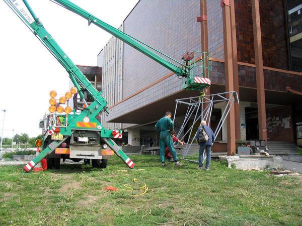 Montáže hal a ocelových konstrukcí