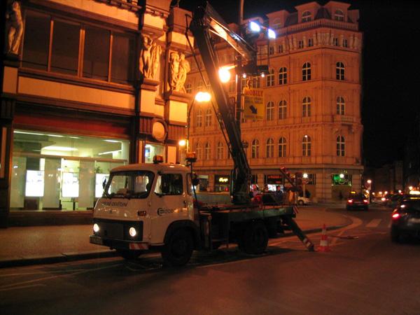 Údržba veřejného osvětlení